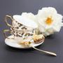Tea / coffee accessories - Louis Leopard Teacup & Saucer - CRISTINA RE