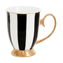 Tea / coffee accessories - Ebony Stripe Mug - CRISTINA RE