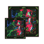 """Scarves - BOX """"MOTHER DAUGHTER"""" BIRDS OF PARADISE 1 SQUARE OF SILK TWILL 90 + 1 SQUARE OF SILK TWILL 45 - MAISON FÉTICHE"""