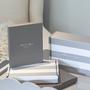 Homewear - Cadre en émail bleu poudré et argent - ADDISON ROSS