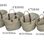 Bags / totes - BASKETS & BAGS - AMAL LINKS