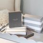 Homewear - Taupe Enamel & Silver Frame  - ADDISON ROSS