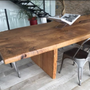 Dining Tables - SOPHIE table in old oak - FOR ME LAB