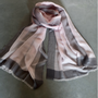Scarves - sparge stole with border - PATRIZIA D.