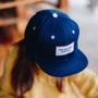 Hats - Mini Navy Blue Cap - HELLO HOSSY®