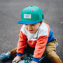 Kids accessories - Mini Tokyo Green Cap - HELLO HOSSY®