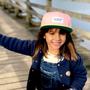 Children's apparel - Mini Pink Cap - HELLO HOSSY®