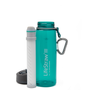 Travel accessories / suitcase - Bottle with water filter 0.65L, BPA-free plastic, dark teal - LIFESTRAW®