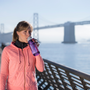 Travel accessories / suitcase - Bottle with water filter 0.65L, BPA-free plastic, lavendel - LIFESTRAW®