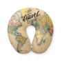 Apparel - Old Map Travel Pillow - XL1823 - I-TOTAL