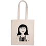 Bags / totes - tote bag eye rolling eve - HELEN B