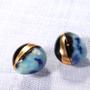 Bijoux - Boucle d'oreille Unbalance Perle de boue n°1 - MARU