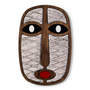 Décoration murale - Masque africain moderne #34 - UMASQU