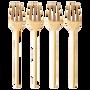 Gift - Moderne Fork - Set of 4 - CRISTINA RE