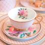 Mugs - Butterfly Garden - Teacup & Saucer - CRISTINA RE