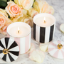 Gift - Ebony Stripe Candle - Vanilla Macaron - CRISTINA RE