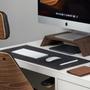 Design objects - Felt and cork office desk mat - OAKYWOOD
