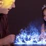 Hotel rooms - 50 cm Water Vapor Fireplace - AFIRE 3D Electric Insert PREMIUM Design Decoration - AFIRE