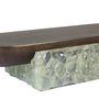 Coffee tables - ROCK CRYSTAL CENTRE TABLE - FORMUS