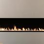 Kitchen Furniture - Modulo 200-800 cm Ethanol Burners & Fireplaces - Smart Remote Controlled Inserts AFIRE Decoration Design - AFIRE