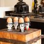 Kitchen utensils - Egg Cups Carlos & Marisol- Designed by Ingela P. Arrhenius - KITSCH KITCHEN
