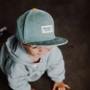 Children's apparel - Sweet Baby Blue Cap - HELLO HOSSY®