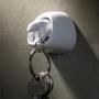 Decorative items - Polar Bear Keyring : Iceberg Collection Organizer Keys White Bear - QUALY DESIGN OFFICIAL