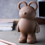 Children's desks - Teddy Scissors + Clips Holder : Stationery in Garden Collection Cute Office Equipments - QUALY DESIGN OFFICIAL