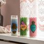 Objets de décoration - Bougie en verre L Amor, Corazón & Paz  - KITSCH KITCHEN