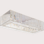 Decorative objects - KARMINA I Rectangle pendant lamp - MAZLOUM LIGHT
