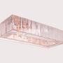 Objets de décoration - KARMINA I Lustre en Rectangle - MAZLOUM LIGHT