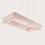 Hanging lights - KARMINA Rectangle - MAZLOUM LIGHT