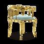 Chairs - Nº 11 LIGHT BLUE Chair - BOCA DO LOBO