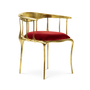 Chaises - Nº 11 ROUGE Chaise - BOCA DO LOBO