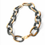 Bijoux - Chains collier 16 maillons - CHRISTINE'S - HANDMADE DESIGNERS ACCESSORIES