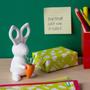 Bureaux d'enfants - Ciseaux Teddy + Clips Support: Papeterie dans Garden Collection Mignon Équipement de bureau - QUALY DESIGN OFFICIAL