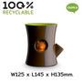 Layout - Hill Pot : Recycled Plastic Self-Watering Plant Pot for indoor and outdoor garden Office Equipment Container - QUALY DESIGN OFFICIAL