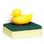 Storage - Bunny Sponge Holder :  Everyday Houseware Kitchen Bath Eco living collection 100% recyclable. - QUALY DESIGN OFFICIAL