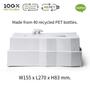 Outdoor space equipment -  Polar Bear Iceberg Facial Tissue Holder : Iceberg Kitchen Collection: 100% recyclable environmentally friendly materials Bathroom - QUALY DESIGN OFFICIAL