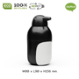 Storage -  Escar Soap Dispenser  :  Everyday Houseware Eco living collection 100% recyclable. - QUALY DESIGN OFFICIAL