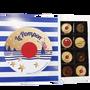 Chocolate - Marinière 16 Pompons - CHOCOLATERIE LE POMPON