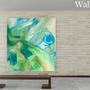 "Paintings - PICTURE ""Ice Earth"" series - H'AUTEUR D'ENCRES"