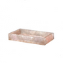Decorative objects - Taj rose Quartz vanity tray - MIKE + ALLY
