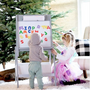 Children's arts and crafts - Children's easel  with storage - PETIT POUCE FACTORY