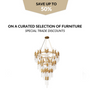 Aménagements - Waterfall Chandelier - COVET HOUSE
