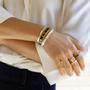 Jewelry - Lucy Bangle - White Sand - BANGLE UP
