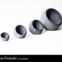 Assiettes de réception - art de table StoneSpheres - HUKKA DESIGN / RAW FINNISH