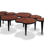 Tables - Waterlily Center Table - MALABAR