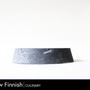 Formal plates - GeoPlate /High edge - HUKKA DESIGN / RAW FINNISH