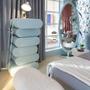 Children's bedrooms - Cloud Mirror Blue - CIRCU
